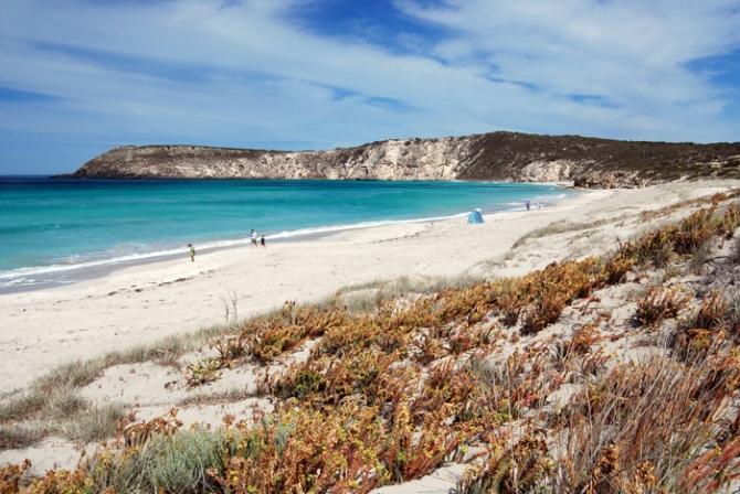 Pennington Bay on Kangaroo Island, South Australia