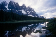The Ramparts, Tonquin Valley, Jasper National Park, Canada