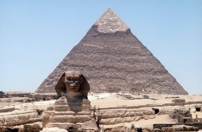 The Pyramids and the Sphinx, Egypt