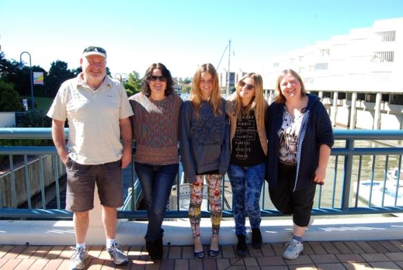 Family in Brisbane