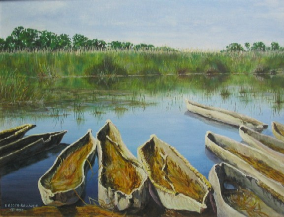 Mokoros by Elaine Booth-Kallweit