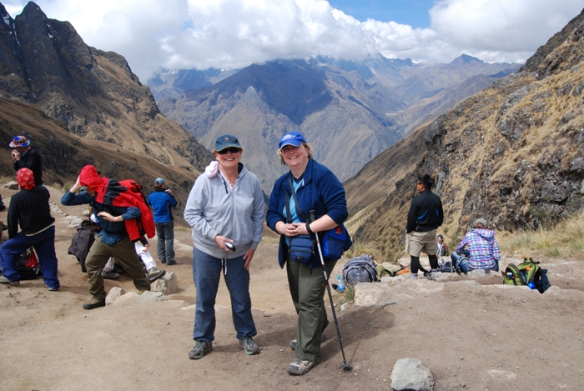 Sue and Karen on the Inca Trail