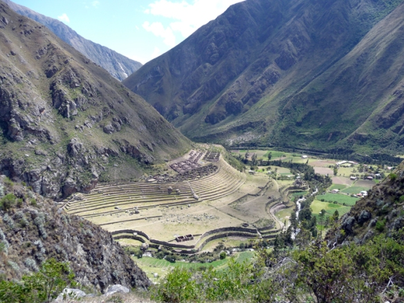 View from the Inca Trail on Day 1