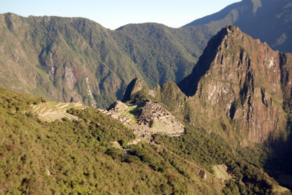 Machu Picchu - the 'old mountain'