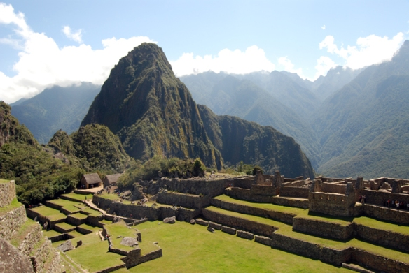 Huayna Picchu translates as 'young mountain' and this may have been an astronomical observatory or a place for religious worship.