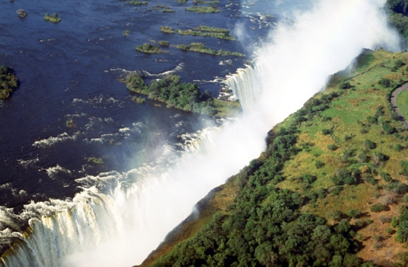 Flight of Angels over Victoria Falls