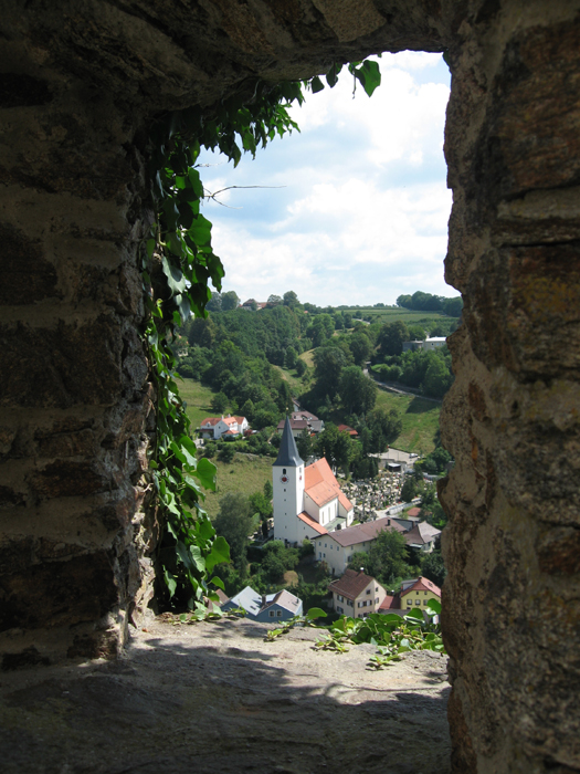 View from Veste Oberhaus (fortress)