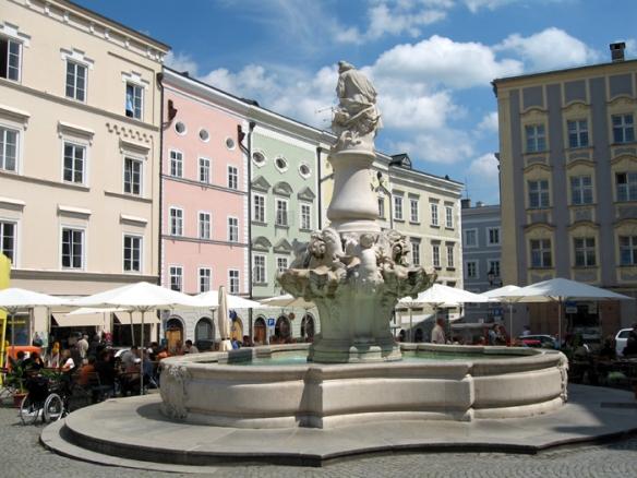 Passau's beautiful Old Town