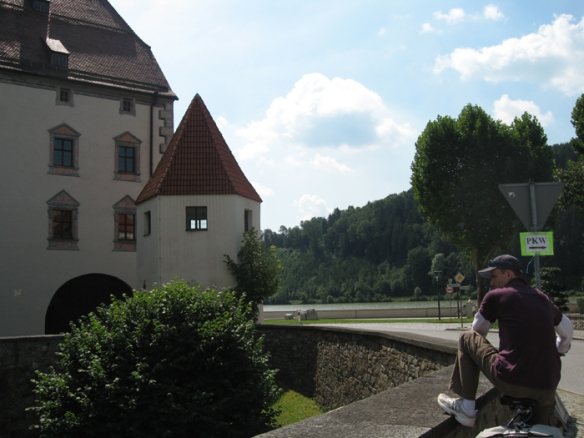 Scenery on the Danube Cycleway