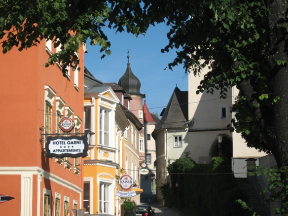 Beautiful Grein is one of my favourite places in Austria
