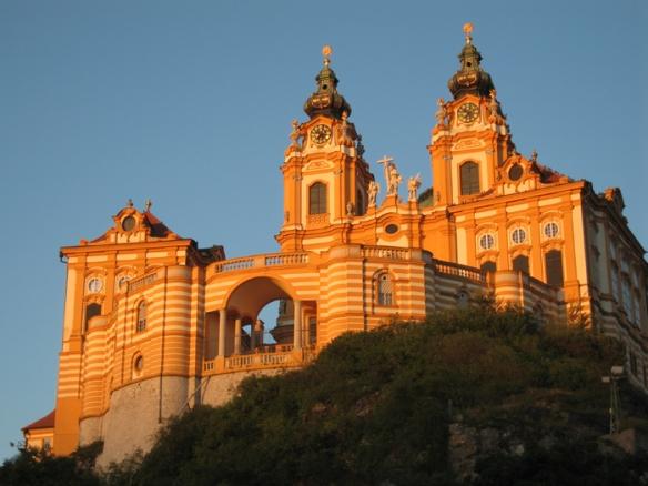 The spectacular Melk Abbey