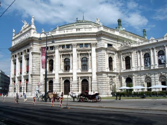 Burgtheatre in Vienna
