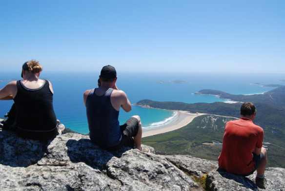 View of The Prom from Mount Oberon