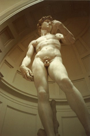 David by Michelangelo, Florence, Italy