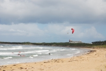 Kite-surfers