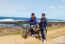 Karen and Sue at Port Fairy
