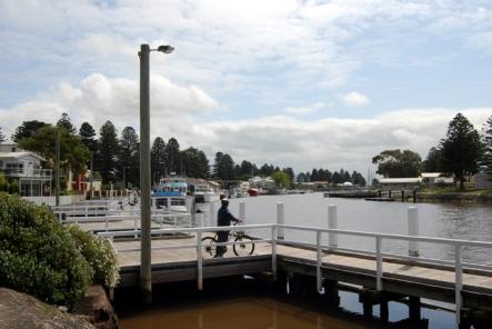 Fisherman's Wharf in Port Fairy