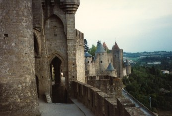Carcassonne outer wall