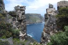 Rock formations at Tasman Peninsula