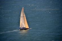 Yacht on SF Bay