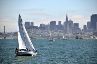 Yachts on SF Bay
