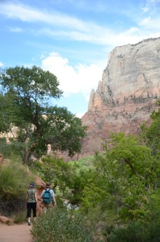 Emerald Pools hike