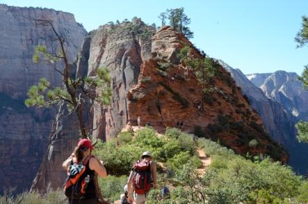 Angels Landing hike