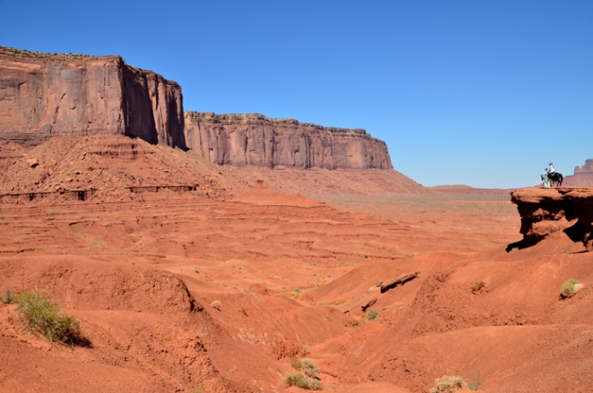 The wild west at Monument Valley