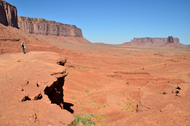 View of Monument Valley from John Ford's Point