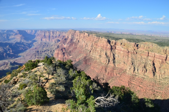 The Grand Canyon from Desert View.