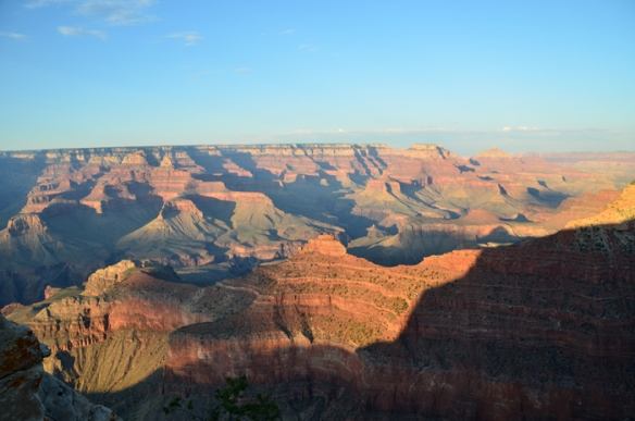 The Grand Canyon near Mather Point.