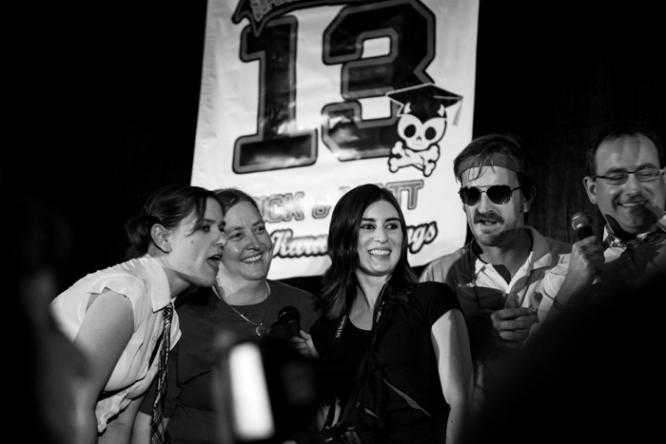Karaoke at the Supernatural convention (Photo: Megan Jackson)