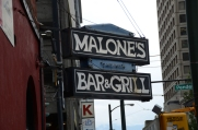 Malone's Bar & Grill.