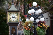 Steam clock in Gastown. Many SPN scenes are filmed in this part of downtown Vancouver.
