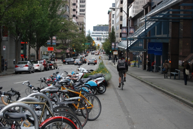 Hornby Street, Vancouver