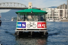 Aquabus on False Creek