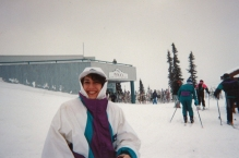 Karen at Whistler
