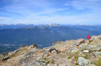 Half Note Trail on Whistler Mountain