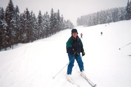 Skiing at Whistler, Canada