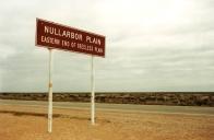 Crossing the Nullarbor Plain in Australia