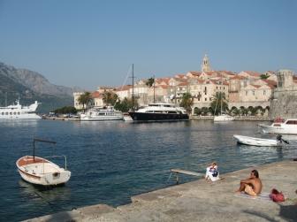 Visiting Korcula island in Croatia
