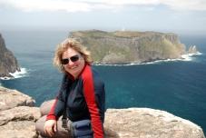 Hiking on the Tasman Peninsula, Australia