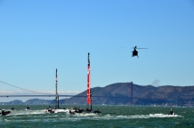 Seeing the America's Cup yacht race in San Francisco