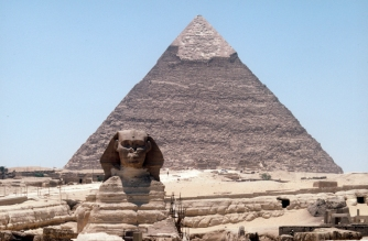 Seeing the pyramids in Egypt