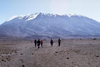 Trekking Mt Kilimanjaro in Tanzania