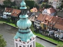 Exploring Cesky Krumlov in Czech Republic