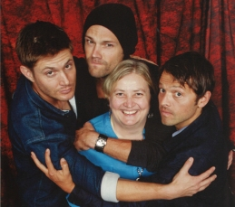 Meeting the stars of Supernatural in Vancouver, where the show is filmed