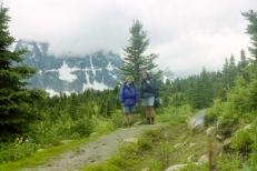 Backcountry hiking in Jasper National Park