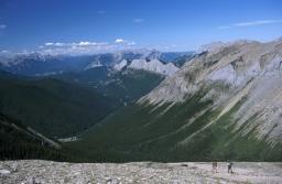 Sulphur Skyline Hike in the Canadian Rockies