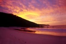 Seeing the sunrise at Wilsons Prom, Australia